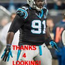 COLIN COLE 2014 CAROLINA PANTHERS FOOTBALL CARD