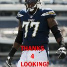 KING DUNLAP 2014 SAN DIEGO CHARGERS FOOTBALL CARD
