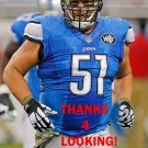 DOMINIC RAIOLA 2014 DETROIT LIONS FOOTBALL CARD