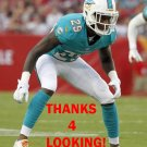 WILL DAVIS 2014 MIAMI DOLPHINS FOOTBALL CARD