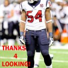 MISTER ALEXANDER 2012 HOUSTON TEXANS FOOTBALL CARD