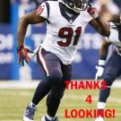 RICKY SAPP 2014 HOUSTON TEXANS FOOTBALL CARD