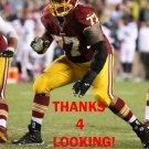 SHAWN LAUVAO 2014 WASHINGTON REDSKINS FOOTBALL CARD