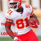 JASON AVANT 2014 KANSAS CITY CHIEFS FOOTBALL CARD