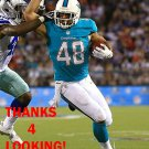 EVAN RODRIGUEZ 2013 MIAMI DOLPHINS FOOTBALL CARD