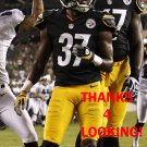TERRENCE FREDERICK 2012 PITTSBURGH STEELERS FOOTBALL CARD
