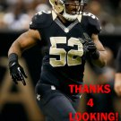 KEVIN REDDICK 2013 NEW ORLEANS SAINTS FOOTBALL CARD