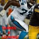 MICANOR REGIS 2014 CAROLINA PANTHERS FOOTBALL CARD