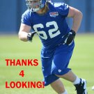 RANDY COLLING 2012 NEW YORK GIANTS FOOTBALL CARD