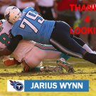 JARIUS WYNN 2012 TENNESSEE TITANS FOOTBALL CARD