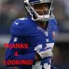 KEVIN OGLETREE 2014 NEW YORK GIANTS FOOTBALL CARD