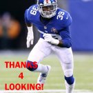 CHYKIE BROWN 2014 NEW YORK GIANTS FOOTBALL CARD