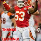 JOE MAYS 2014 KANSAS CITY CHIEFS FOOTBALL CARD