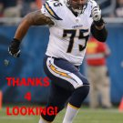 DAMIK SCAFE 2014 SAN DIEGO CHARGERS FOOTBALL CARD