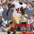ASANTE CLEVELAND 2014 SAN FRANCISCO 49ERS FOOTBALL CARD