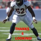 JERRELL HARRIS 2014 DENVER BRONCOS FOOTBALL CARD