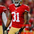 L.J. McCRAY 2014 SAN FRANCISCO 49ERS FOOTBALL CARD