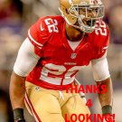 CHRIS COOK 2014 SAN FRANCISCO 49ERS FOOTBALL CARD