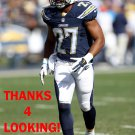 ADRIAN PHILLIPS 2014 SAN DIEGO CHARGERS FOOTBALL CARD