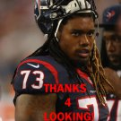 BRENNAN WILLIAMS 2013 HOUSTON TEXANS FOOTBALL CARD