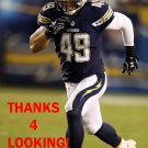 COLTON UNDERWOOD 2014 SAN DIEGO CHARGERS FOOTBALL CARD