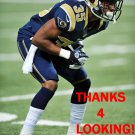 DARREN WOODARD 2014 ST. LOUIS RAMS FOOTBALL CARD