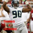JASON JONES 2012 SEATTLE SEAHAWKS FOOTBALL CARD