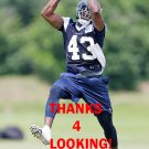 KEELAN JOHNSON 2015 DALLAS COWBOYS FOOTBALL CARD