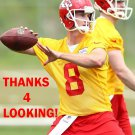 CHRIS BONNER 2015 KANSAS CITY CHIEFS FOOTBALL CARD