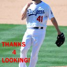 CHRIS HATCHER 2015 LOS ANGELES DODGERS  BASEBALL CARD