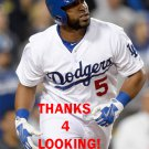 ALBERTO CALLASPO 2015 LOS ANGELES DODGERS  BASEBALL CARD
