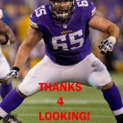JOHN SULLIVAN 2015 MINNESOTA VIKINGS FOOTBALL CARD