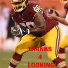 WILLIE SMITH 2015 WASHINGTON REDSKINS FOOTBALL CARD