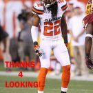 TRAMON WILLIAMS 2015 CLEVELAND BROWNS FOOTBALL CARD