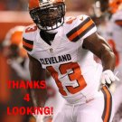 CHARLES GAINES 2015 CLEVELAND BROWNS FOOTBALL CARD