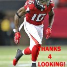 JUSTIN HARDY 2015 ATLANTA FALCONS FOOTBALL CARD