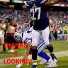 JIMMY WILSON 2015 SAN DIEGO CHARGERS FOOTBALL CARD