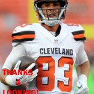 BRIAN HARTLINE 2015 CLEVELAND BROWNS FOOTBALL CARD