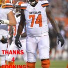 CAMERON ERVING 2015 CLEVELAND BROWNS FOOTBALL CARD