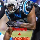 STEVE MILLER 2015 CAROLINA PANTHERS FOOTBALL CARD