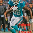 GREG JENNINGS 2015 MIAMI DOLPHINS FOOTBALL CARD