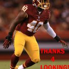 TERRANCE PLUMMER 2015 WASHINGTON REDSKINS FOOTBALL CARD