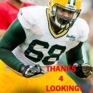 FABBIANS EBBELE 2015 GREEN BAY PACKERS FOOTBALL CARD