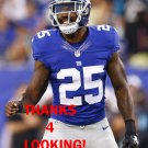 JEROMY MILES 2015 NEW YORK GIANTS FOOTBALL CARD