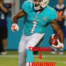 CHRISTION JONES 2015 MIAMI DOLPHINS FOOTBALL CARD