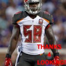 KWON ALEXANDER 2015 TAMPA BAY BUCCANEERS FOOTBALL CARD