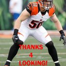 A.J. HAWK 2015 CINCINNATI BENGALS FOOTBALL CARD