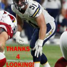 KYLE EMANUEL 2015 SAN DIEGO CHARGERS FOOTBALL CARD