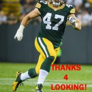 JAKE RYAN 2015 GREEN BAY PACKERS FOOTBALL CARD