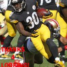 JORDAN TODMAN 2015 PITTSBURGH STEELERS FOOTBALL CARD